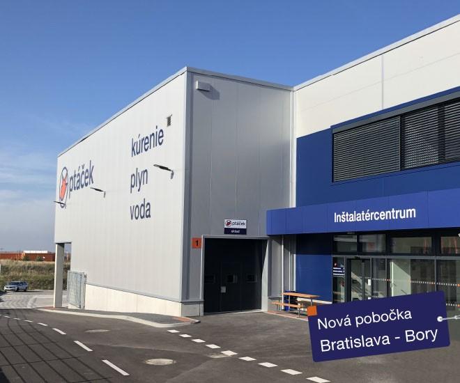 Nová pobočka Bratislava - Bory