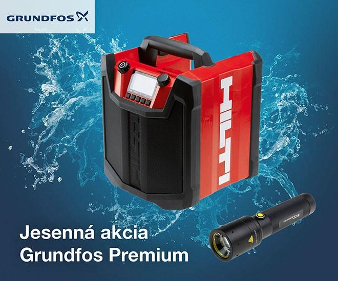 GRUNDFOS Premium - jesenná kampaň