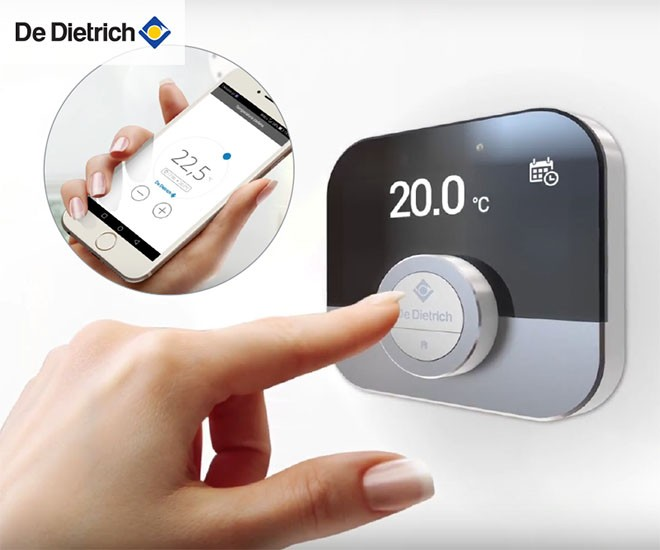 Inteligentný regulátor DeDietrich Smart TC°