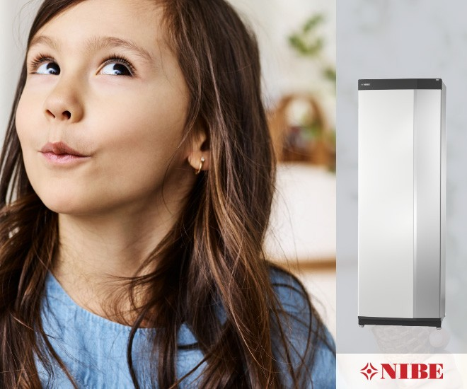 """NIBE predstavuje nový rad tepelných čerpadiel """"S"""""""