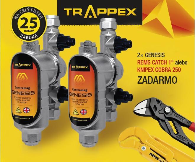 Akcia TRAPPEX GENESIS