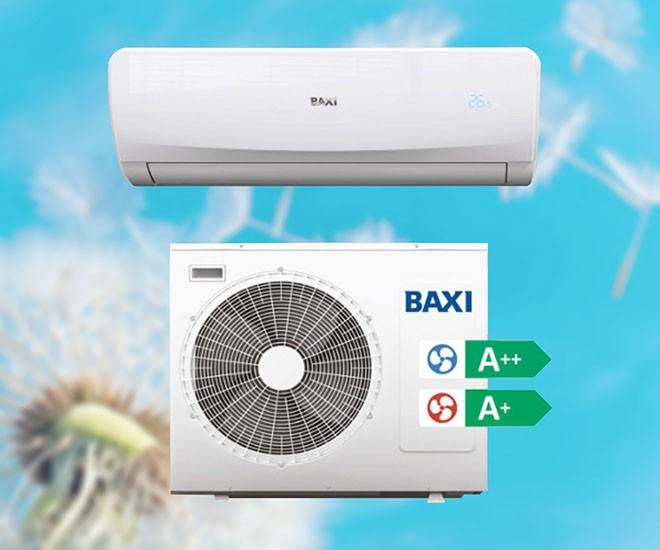 Klimatizácia s tepelným čerpadlom Baxi Luna Clima