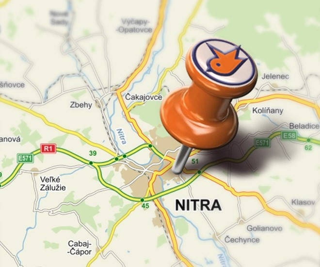 Novo otvorené - IC Nitra