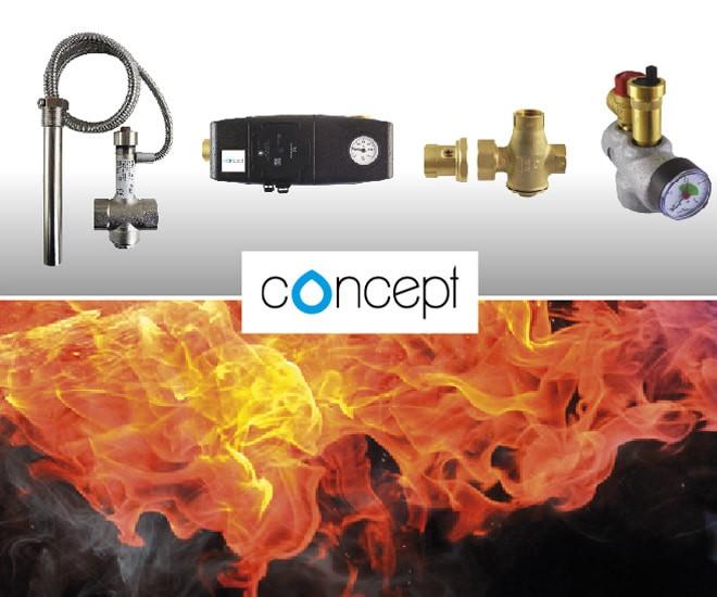 Concept odporúčaná ochrana a regulácia zdrojov tepla